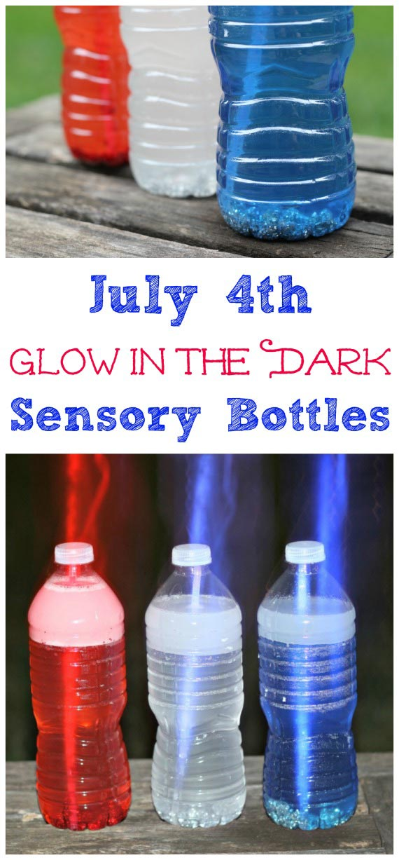 4th of July printables and sensory bottles
