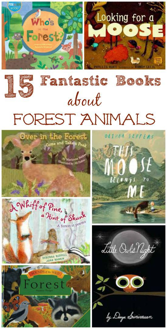 Great books about forest animals and life in the woods