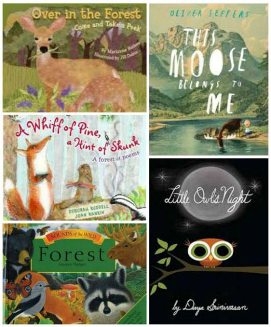 books about forest animals