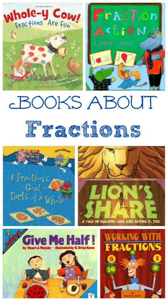 books about fractions