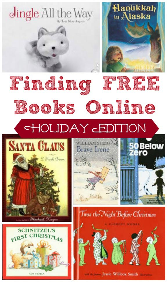 free kids books online for holidays