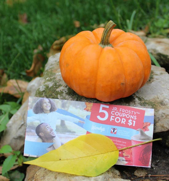 Frosty coupon books available at Wendy's for Halloween