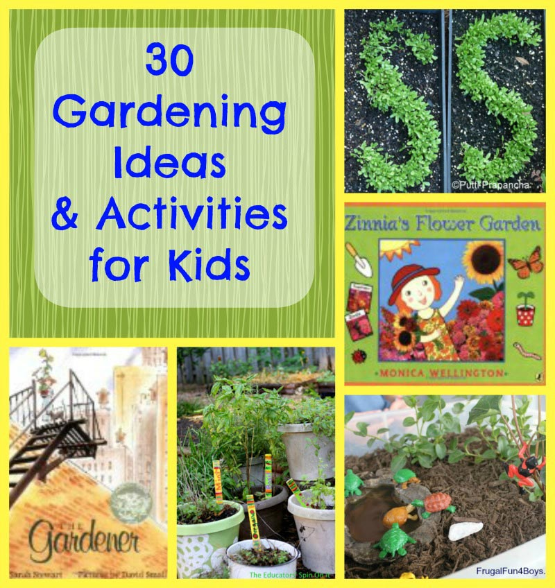 30 early garden crafts ideas for kids edventures with kids for Gardening tips for kids