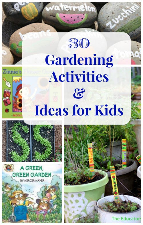 Flower & garden activities for kids