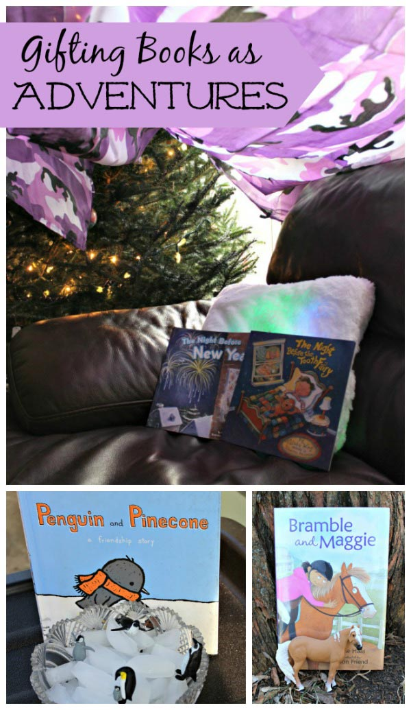 Great ideas for giving books as gifts