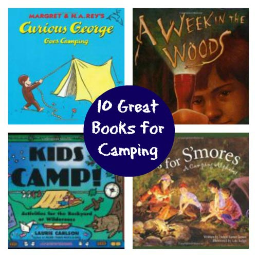 Books for kids to take on a camp-out