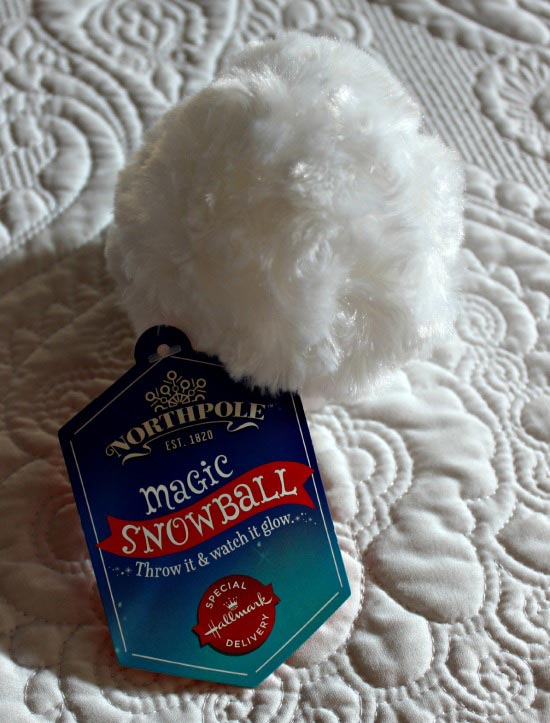 Hallmark magic snowball