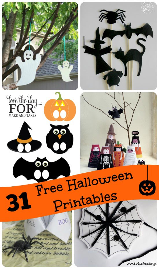 Free Halloween Activities for Kids