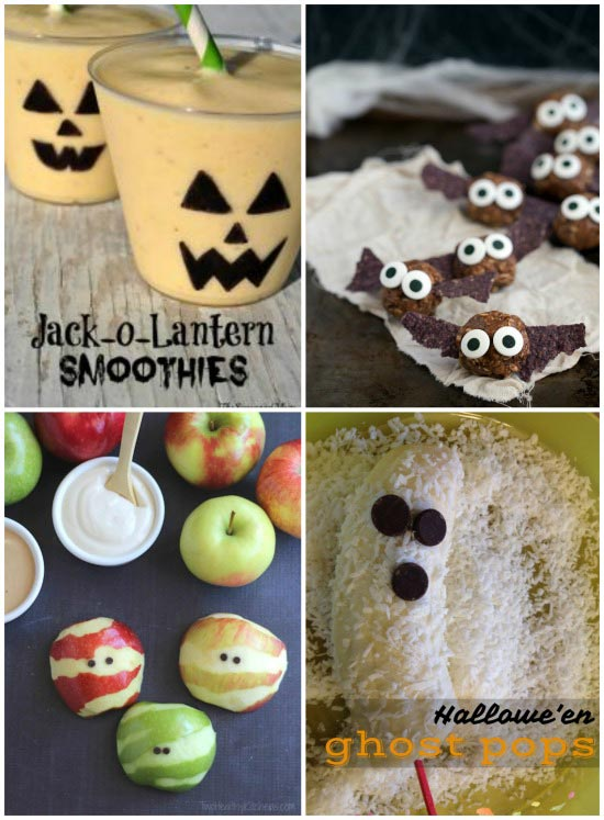 Fall Activities for Kids - make healthy halloween treats afterschool