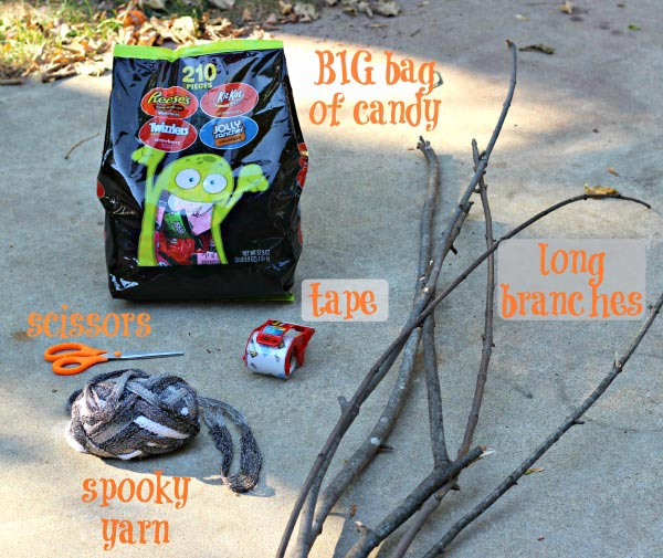 trick or treat supplies