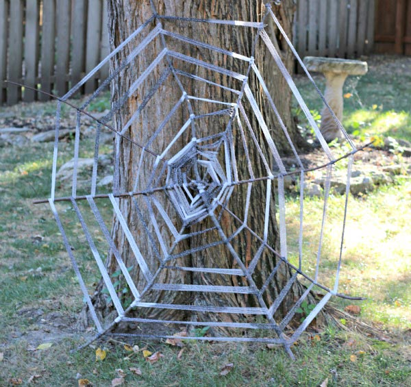 how to make a spider web craft