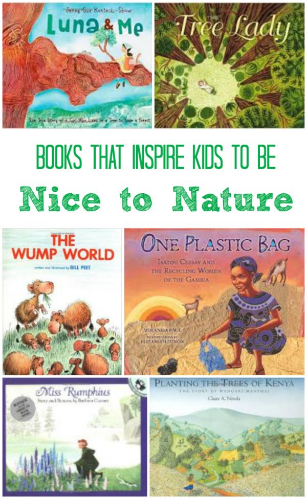 Inspirational nature activities for kids