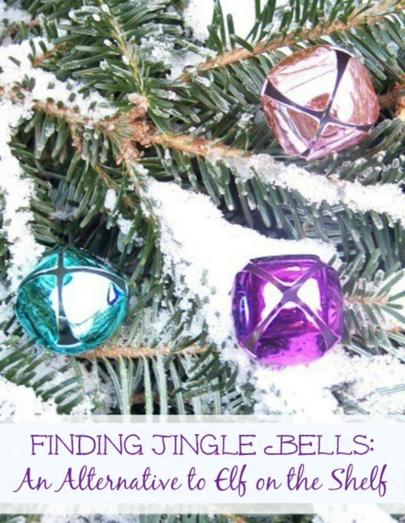 an alternative to elf on the shelf -- finding jingle bells
