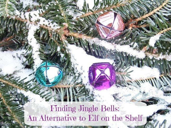 an alternative to elf on the shelf -- finding Santa's bells