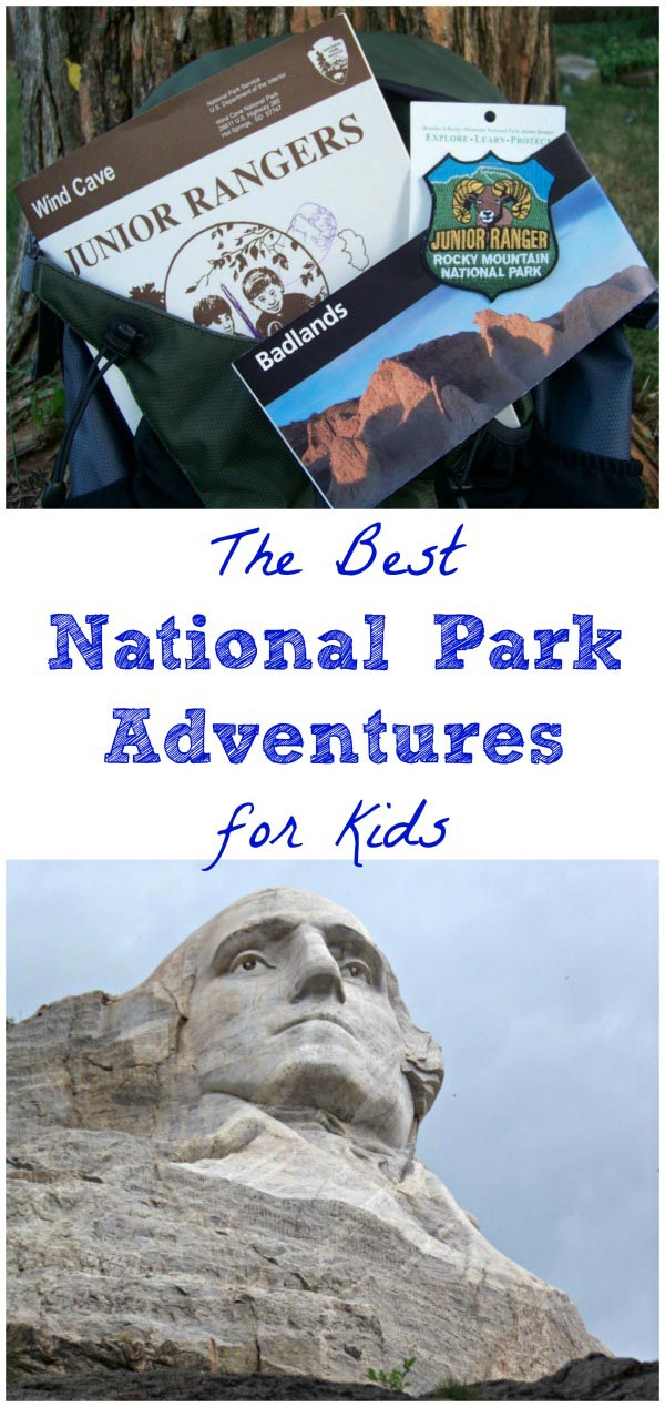 Details about the Junior Ranger programs at National Parks