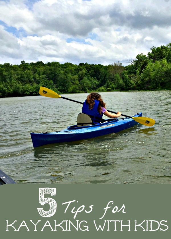 how to kayak with kids