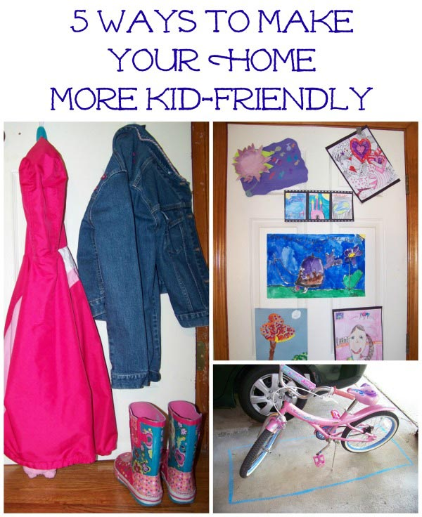 Kid friendly ideas for your home