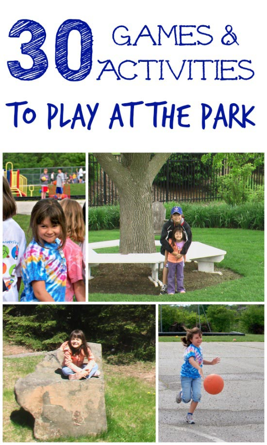 kids games to play at the park