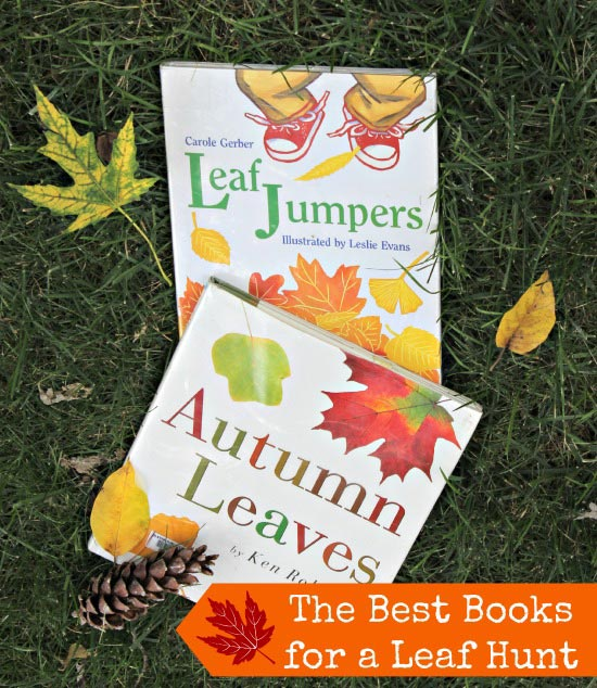 best kids books for a leaf hunt