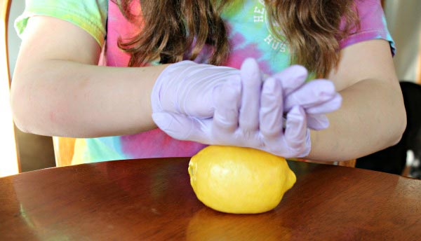 easy science for kids - make a lemon battery