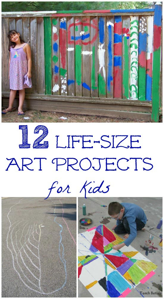 life size art projects