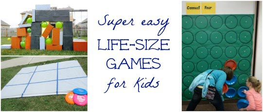 life size games for kids