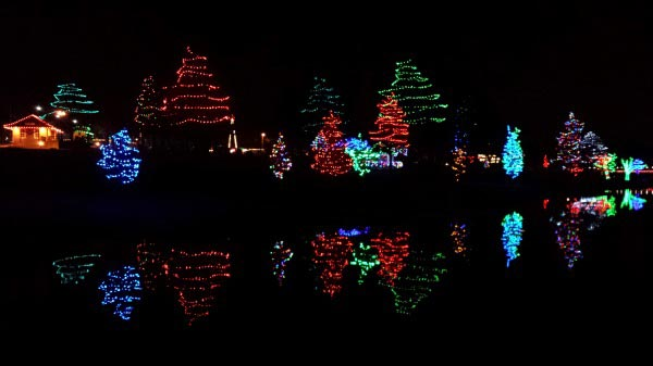 Enjoy the holiday lights and get some exercise too