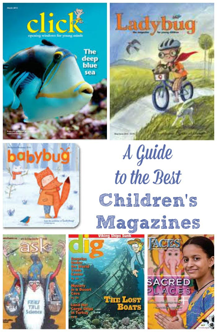 the best magazines for toddlers, kids & tweens
