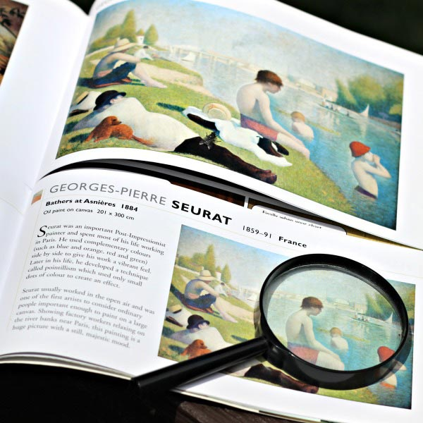 best books to read with a magnifying glass -- fun ideas for kids to try!