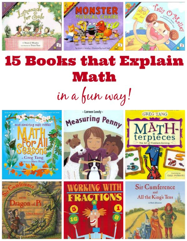 fun math books for kids