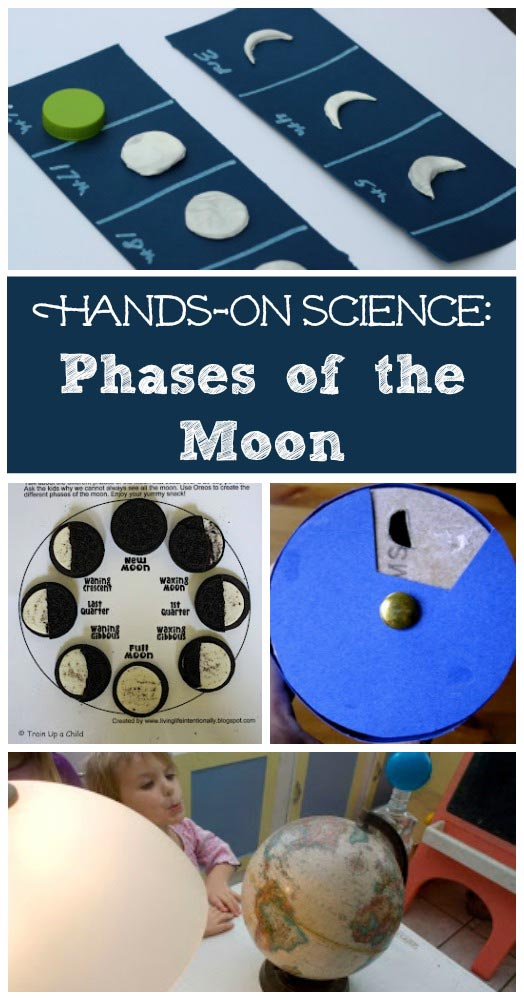 Phases of the Moon crafts and science activities