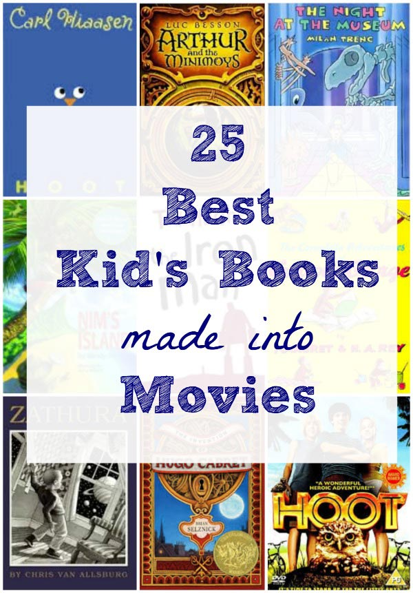 Best children's books made into movies for kids and adults