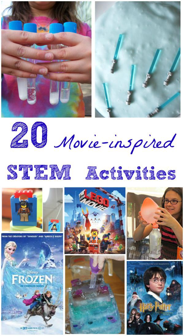 Kids new movies with STEM, science & engineering activities