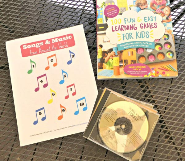 Musical games for kids -- learn geography while listening to songs from around the world!