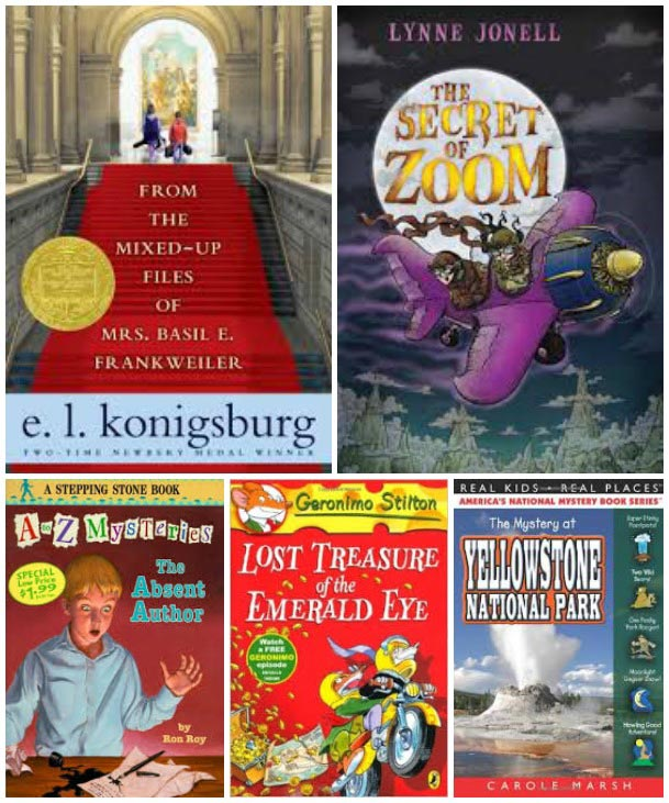 Books for Kids who Love Mysteries