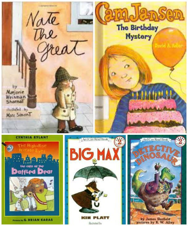 best books for kids - mystery books