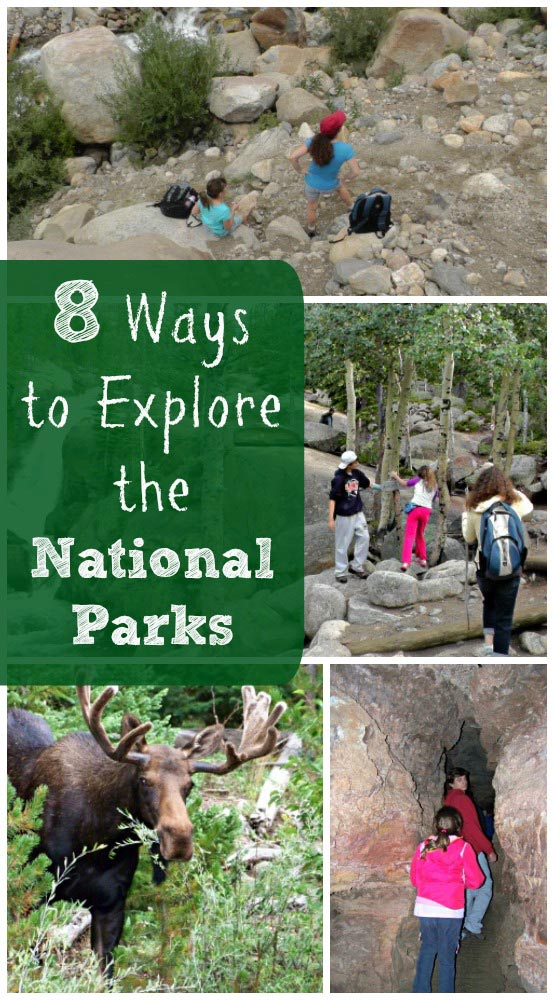 National Parks - Great things to do with the kids