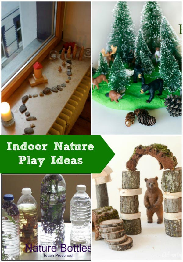 Ideas for Indoor Nature Play