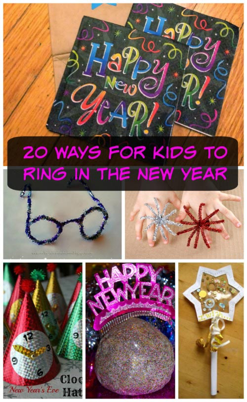 Fun things for kids to do on New Year's Eve