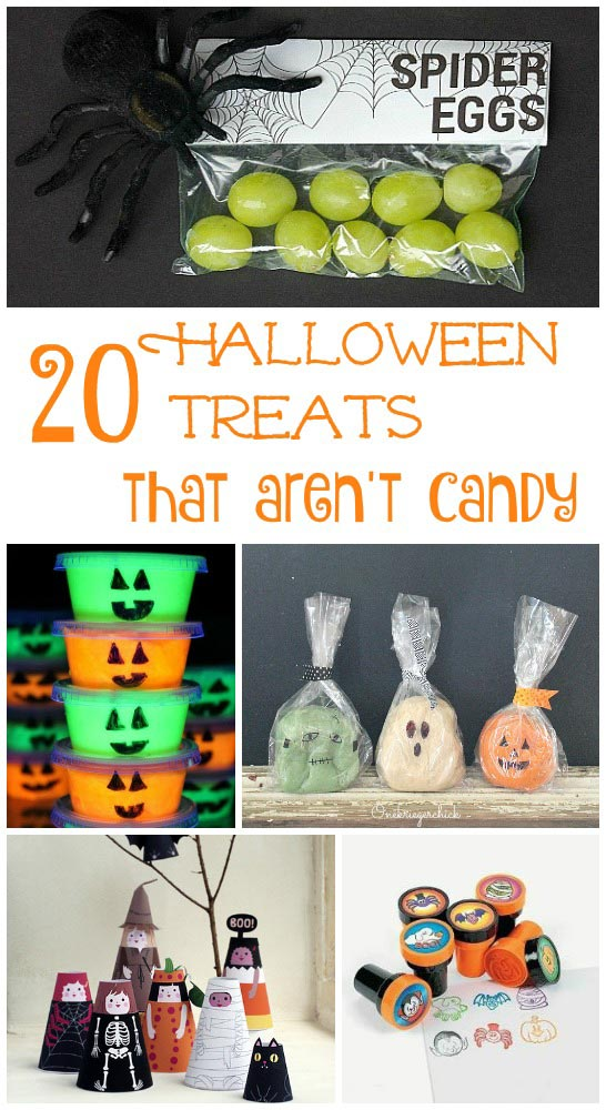 No Candy alternatives for Halloween - treats to hand out to trick or treaters!