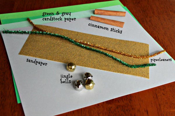 All you need to make adorable namecards for decorating the holiday table!