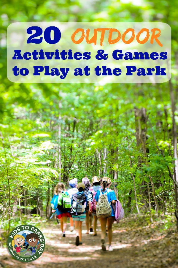 Games to play at the park & outdoor activities for kids