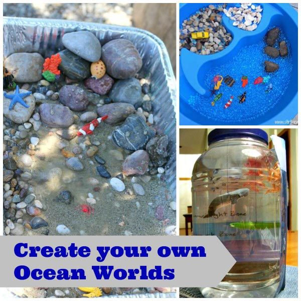 Ocean science and math activities for preschool and elementary kids