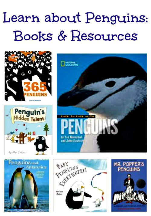penguin books and activities