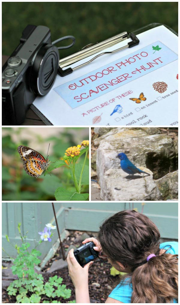 Free printable Photo Scavenger Hunt for Kids