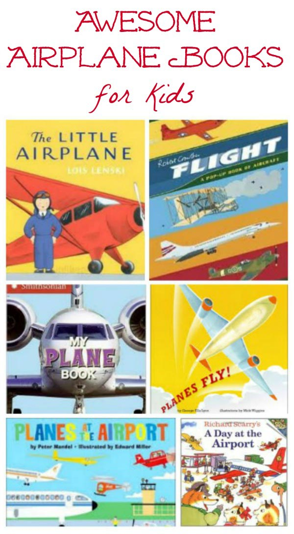 Airplane books, paper airplanes & plane crafts for kids