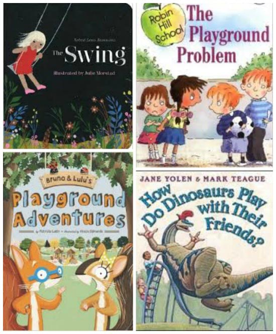 Games and books for the playground