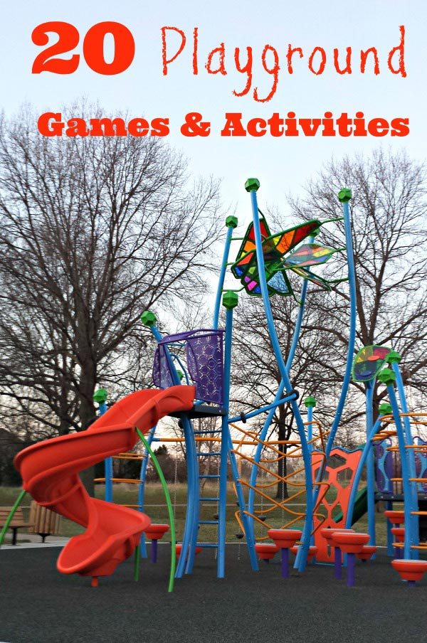 Playground Games and Activities for Kids