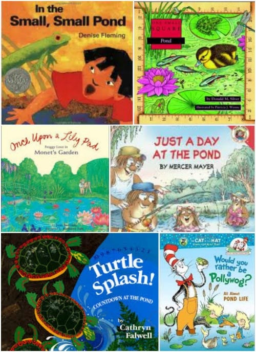 kids books about pond life