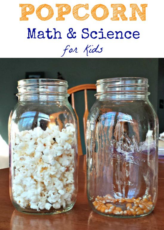 Using popcorn to explain math and science concepts